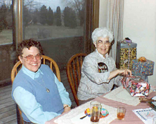 March 1992 -  Sr. Mary Anne and Sr. Mary Jo