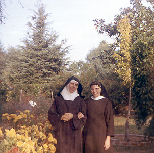Sisters Teresa and Mary Anne
